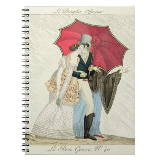 The Obliging Umbrella, plate 40 from 'Le Bon Genre Notebook