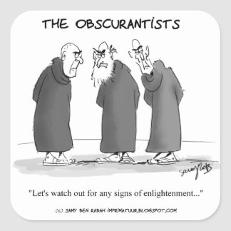 The Obscurantists Stickers