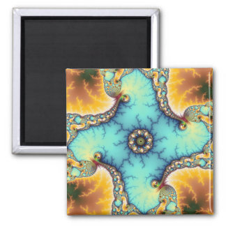 The Observer 2 Inch Square Magnet