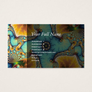The Observer - Fractal Business Card