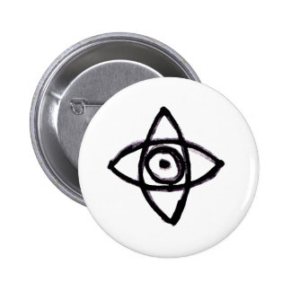 The Observer Pinback Button