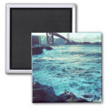 The Ocean and The Bridge Magnet