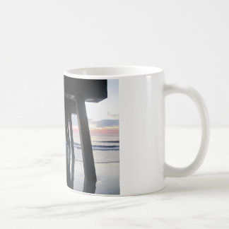 The Ocean and the Pier.jpg Coffee Mug