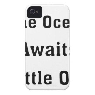 The Ocean Awaits Little One iPhone 4 Case