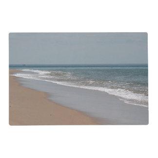 The ocean blue placemat