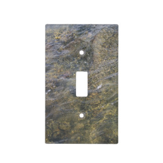 The Ocean Floor Light Switch Cover