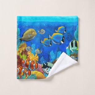 Aquarium Fish Bathroom Accessories Zazzle, Fish Bathroom Set