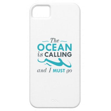 Beach Themed The Ocean Is Calling iPhone SE/5/5s Case