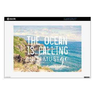 The Ocean is Calling - Maui Coast | Laptop Skin