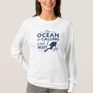 The Ocean Is Calling T-Shirt