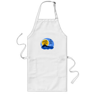 The Ocean Is My Happy Place Long Apron