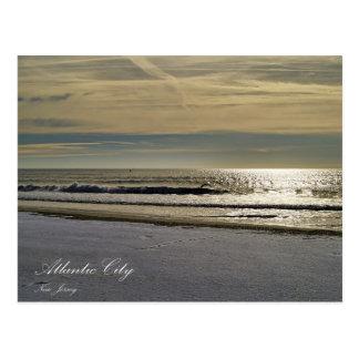 The Ocean of Atlantic City Postcard