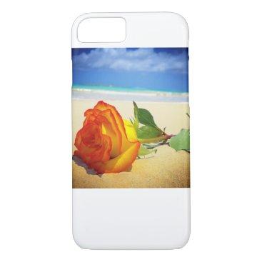 Beach Themed The Ocean Rose iPhone 7 Case