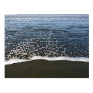 The Ocean Tide Washing Ashore Postcard