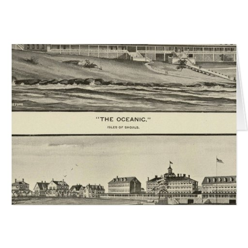 The Oceanic, Appledore House Greeting Card