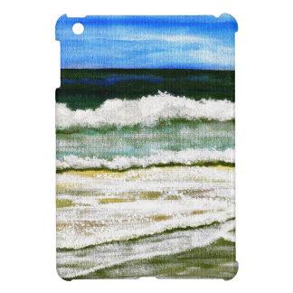 The Ocean's Elegance - Ocean Surf Beach Art iPad Mini Case