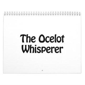 the ocelot whisperer calendar