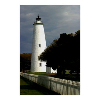 The Ocracoke Island Lighthouse Poster