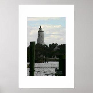 The Ocracoke Island Lighthouse Poster