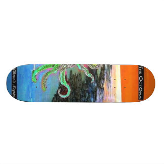 The Oct8pus - Customized Skateboard Deck