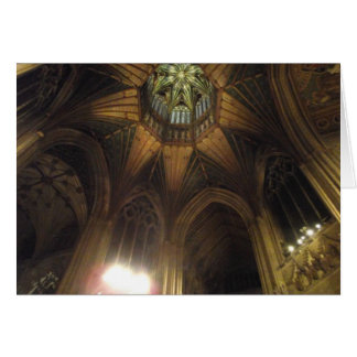 The Octagon, Ely Cathedral Card