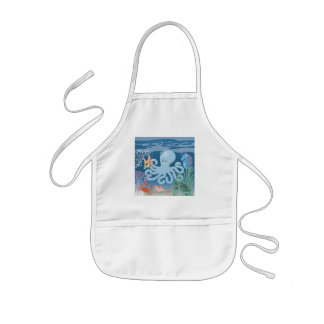 The Octopus child's apron