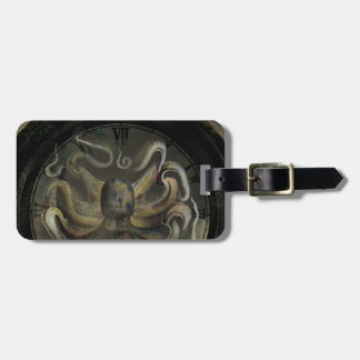 The Octopus of Time Tag For Bags