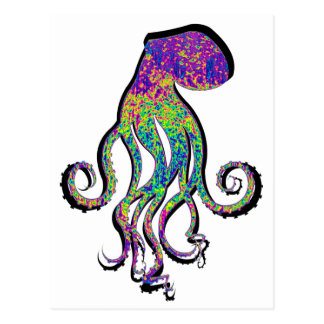 THE OCTOPUS WAVE POST CARDS
