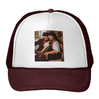 The Odd Couple By Leibl Wilhelm (Best Quality) Trucker Hat