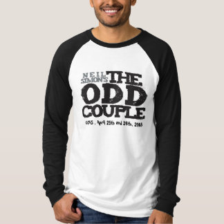 The Odd Couple Raglan T-Shirt