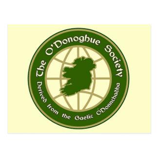 The O'Donoghue Society Postcard