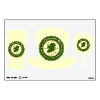 The O'Donoghue Society Wall Sticker