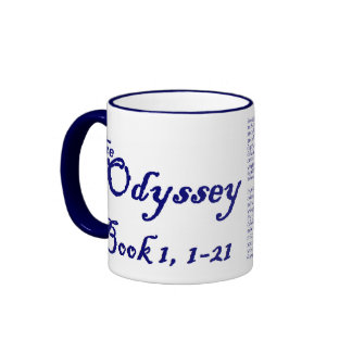 The Odyssey Ringer Coffee Mug