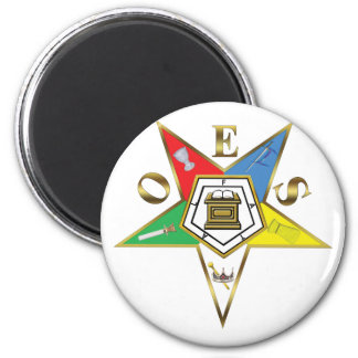 The OES Star 2 Inch Round Magnet
