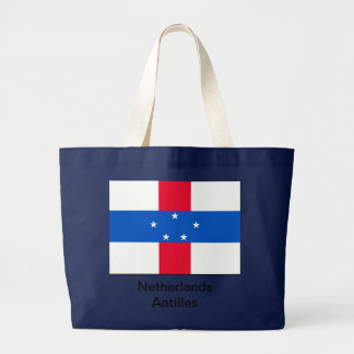 The of Netherlands Antilles Large Tote Bag