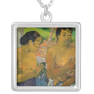 The Offering, 1902 Square Pendant Necklace