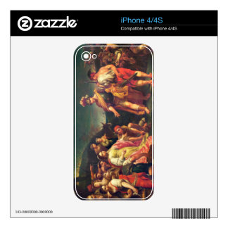The Offering of Abigail before David iPhone 4 Skin