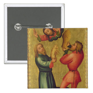The Offerings of Cain and Abel Pinback Button