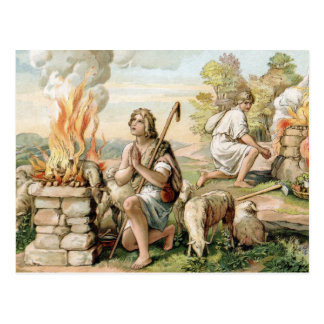 The Offerings of Cain and Abel Postcard