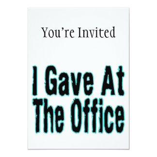 The Office Card