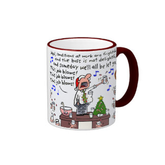 The Office Christmas Party Ringer Coffee Mug
