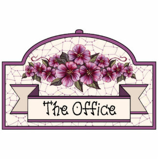 """""""The Office"""" - Decorative Sign - 31 Cutout"""