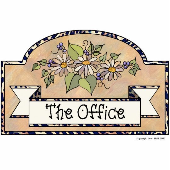 """""""The Office"""" - Decorative Sign Cutout"""