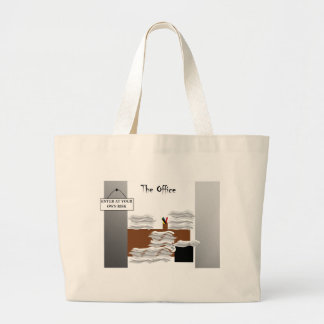 The Office: Enter At Your Own Risk II Large Tote Bag