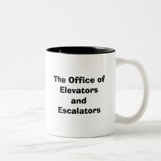 The Office of Elevators and Escalators Mug