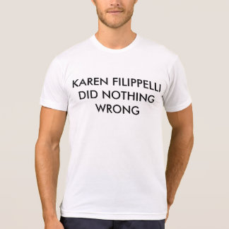 The Office shirt Karen Filippelli did nothing