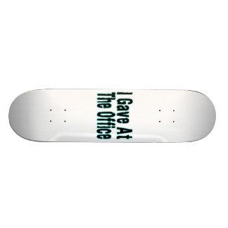 The Office Skateboard Deck