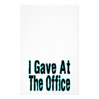The Office Stationery
