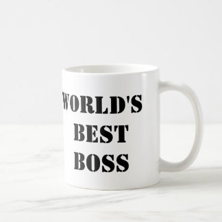 The Office World's Best Boss Coffee Mug