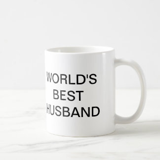 The Office, World's Best Husband Classic White Coffee Mug